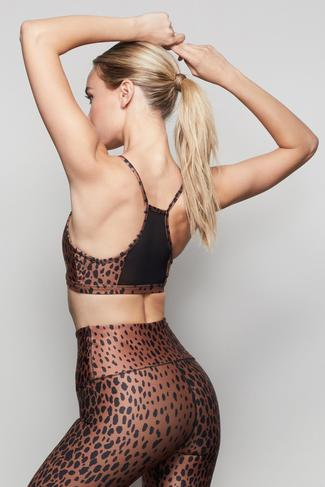 THE BARELY THERE BRALETTE   CHEETAH001 by Good American, available on goodamerican.com for $65 Jenna Dewan Top SIMILAR PRODUCT