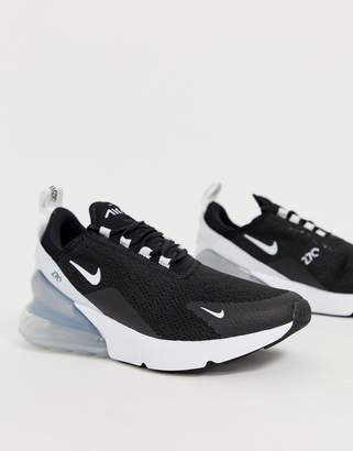 black and white air max 270 sneakers by Nike, available on shopstyle.com for $150 Jenna Dewan Shoes Exact Product
