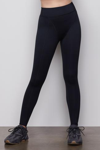 THE FAB SEAMED LEGGING | BLACK001 by Good American, available on goodamerican.com for $115 Jennifer Lopez Pants SIMILAR PRODUCT