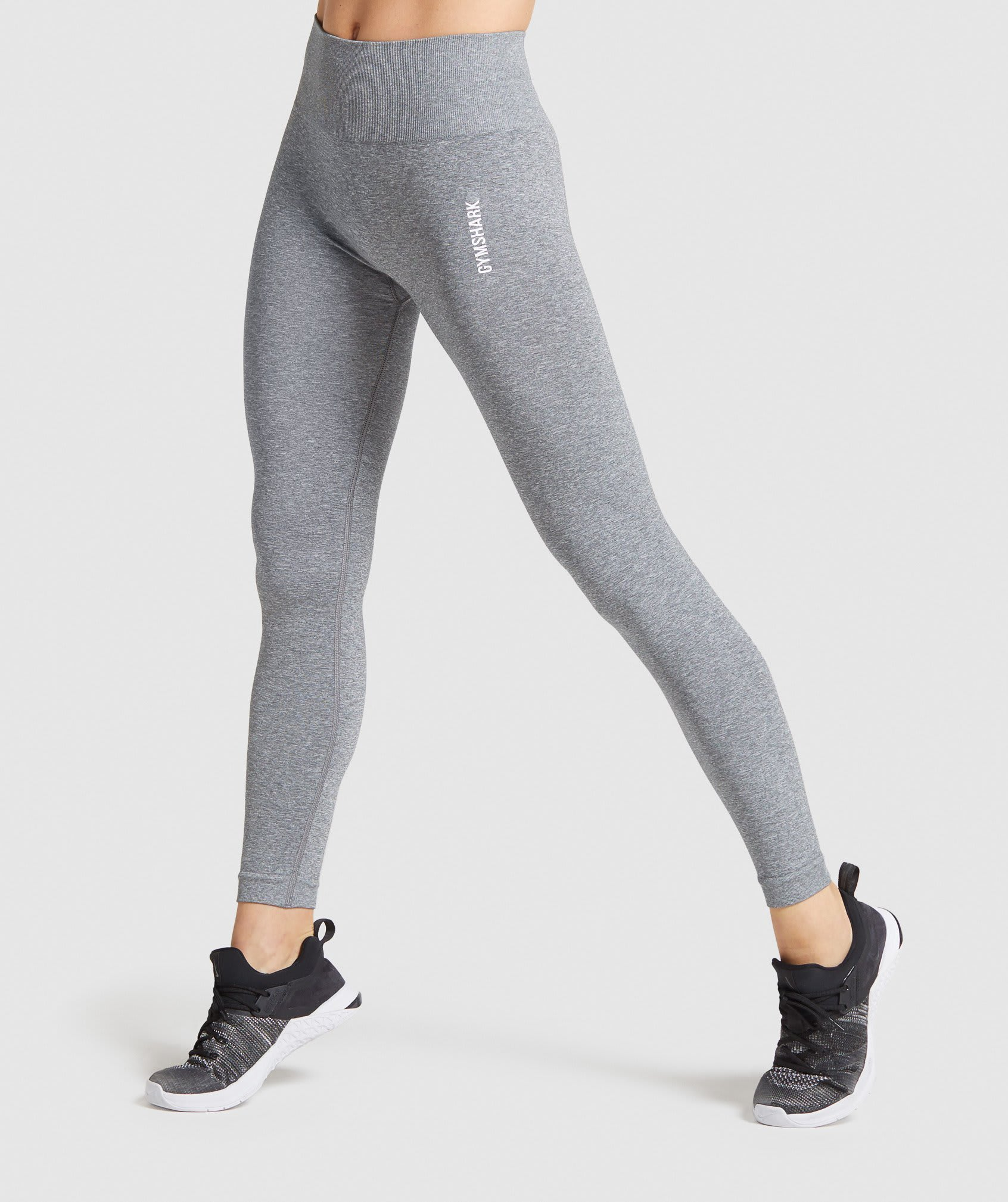 ADAPT MARL SEAMLESS LEGGINGS by Gymshark, available on gymshark.com for $55 Kaia Gerber Pants Exact Product