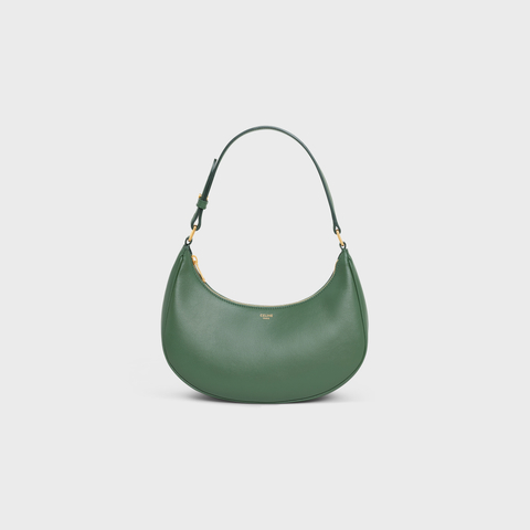 AVA BAG IN SMOOTH CALFSKIN FOREST by Celine, available on celine.com Kaia Gerber Bags Exact Product