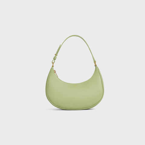AVA BAG IN SMOOTH CALFSKIN SAGE by Celine, available on celine.com Kaia Gerber Bags Exact Product