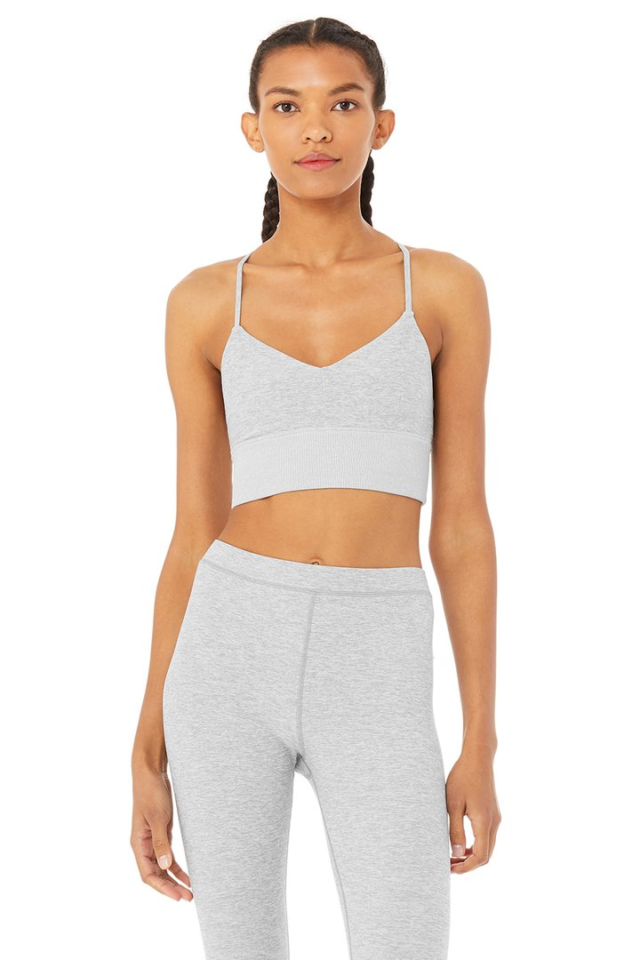Alosoft Lavish Bra by Alo Yoga, available on aloyoga.com for $54 Kaia Gerber Top SIMILAR PRODUCT