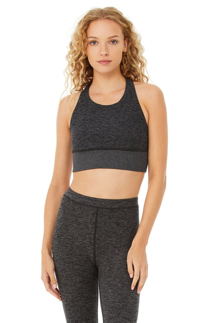 Alosoft Serenity Bra by Alo Yoga, available on aloyoga.com for $62 Kaia Gerber Top SIMILAR PRODUCT