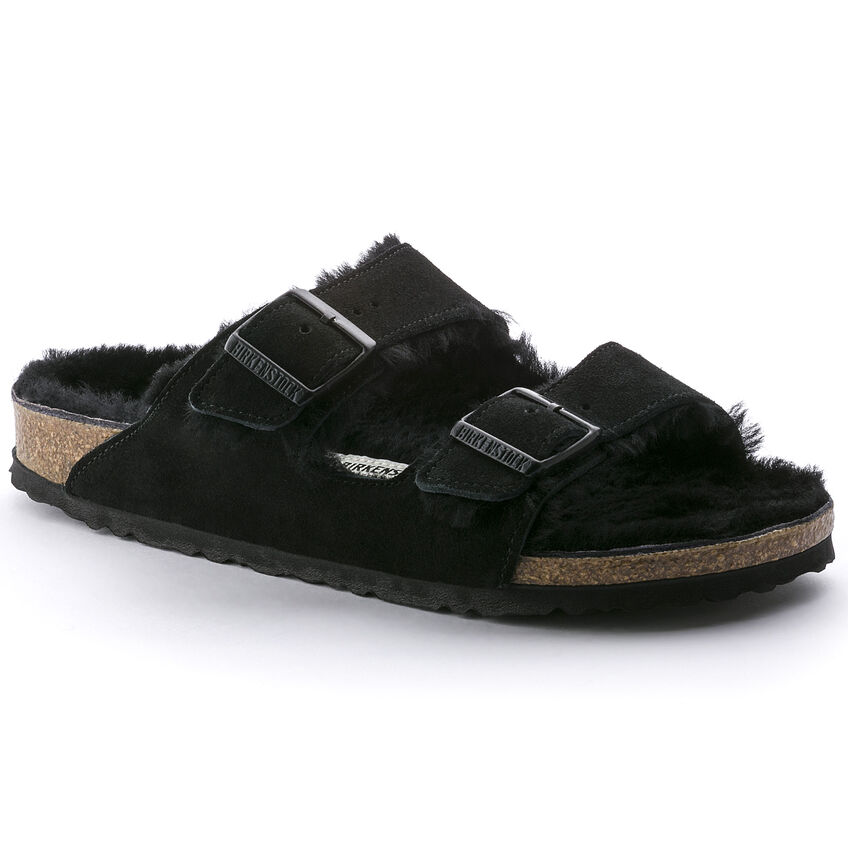 Arizona Shearling by Birkenstock, available on birkenstock.com for $150 Kaia Gerber Shoes Exact Product