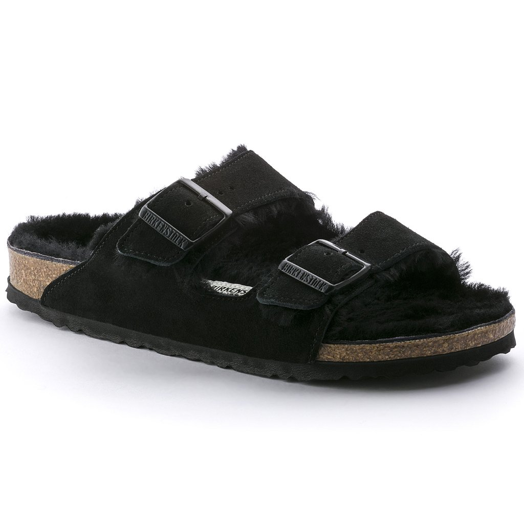 Arizona Shearling by Birkenstock, available on birkenstock.in for $151.58 Kaia Gerber Shoes Exact Product