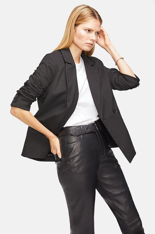 Becky Blazer - Black by Anine Bing, available on aninebing.com for $349 Kaia Gerber Outerwear SIMILAR PRODUCT