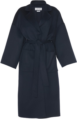 Belted Wool Coat by Loewe, available on shopstyle.com for $2650 Kaia Gerber Outerwear SIMILAR PRODUCT
