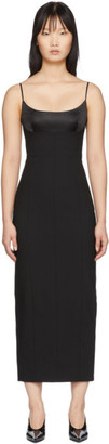 Black Tailored Cami Long Dress by Alexander Wang, available on shopstyle.com for $1195 Kaia Gerber Dress SIMILAR PRODUCT