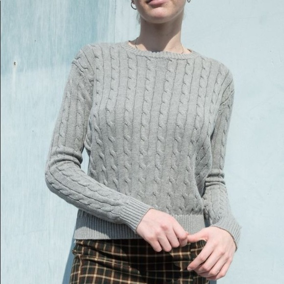 Brandy Melville Olsen Sweater by Brandy Melville, available on poshmark.com for $20 Kaia Gerber Top Exact Product