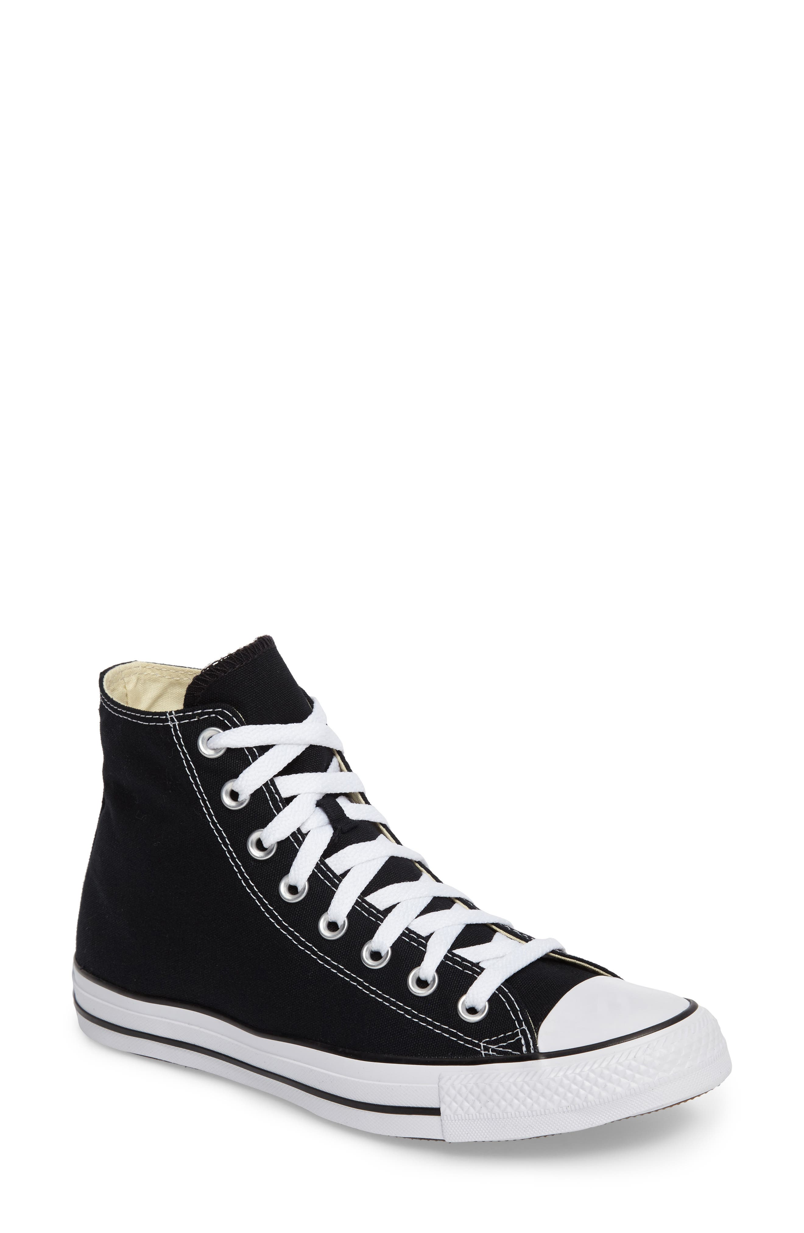 Chuck Taylor® High Top Sneaker by Converse, available on nordstrom.com for $60 Kaia Gerber Shoes Exact Product