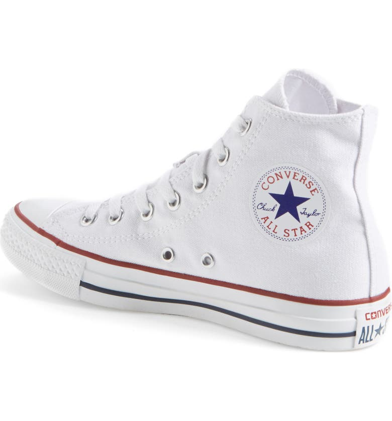 Chuck Taylor® High Top Sneaker by Converse, available on nordstrom.com Kaia Gerber Shoes Exact Product