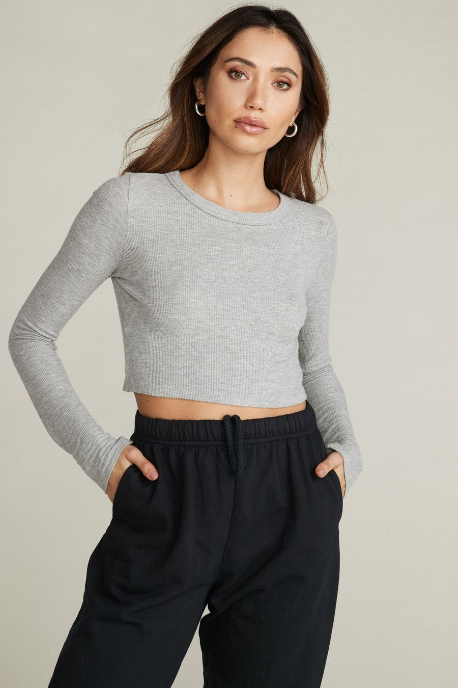 DYLAN - GREY by Belen, available on shopwithbelen.com for $60 Kaia Gerber Top Exact Product