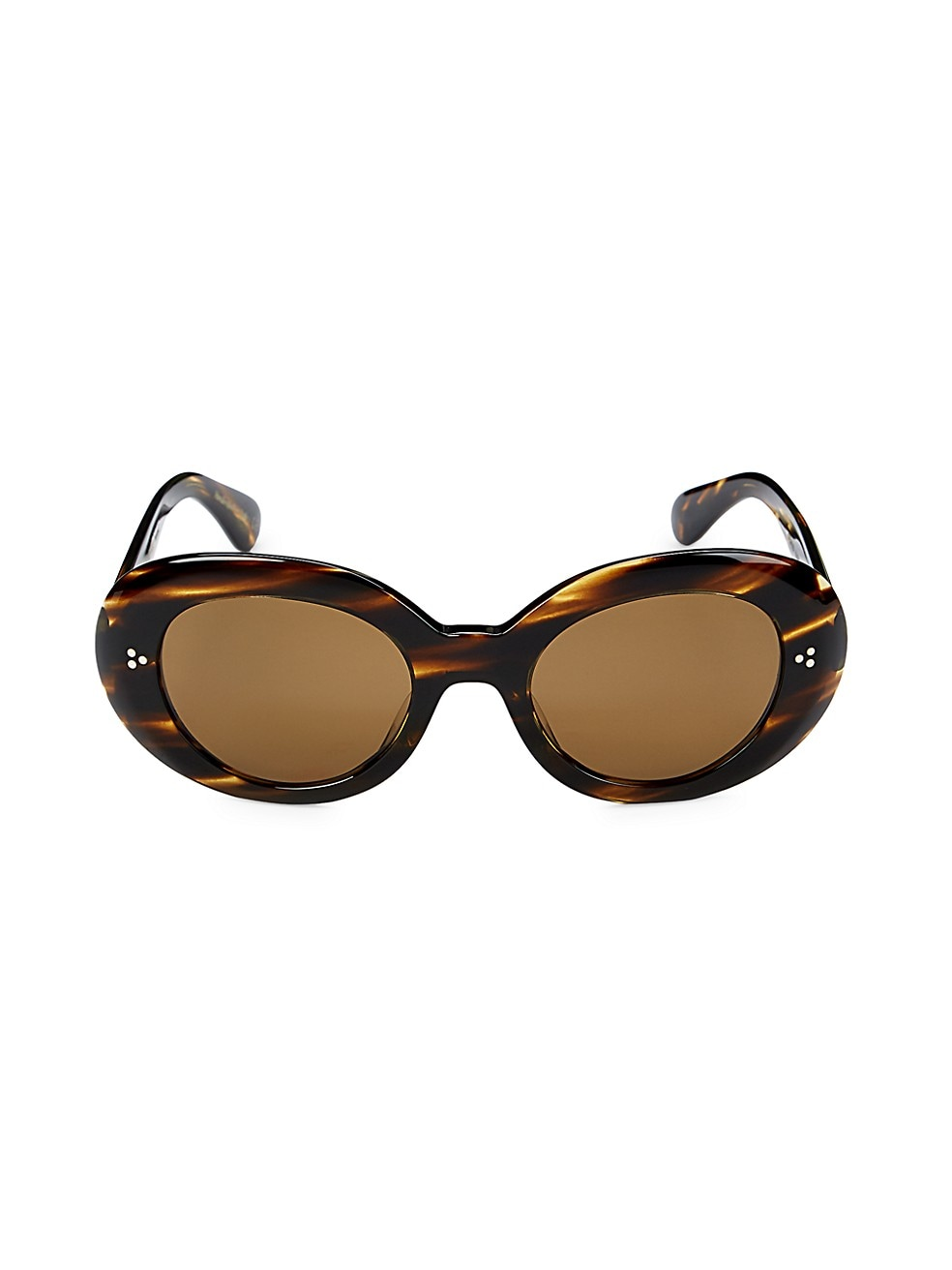 Errissa 52MM Oval Sunglasses by Oliver Peoples, available on saksoff5th.com for $104.99 Kaia Gerber Sunglasses Exact Product