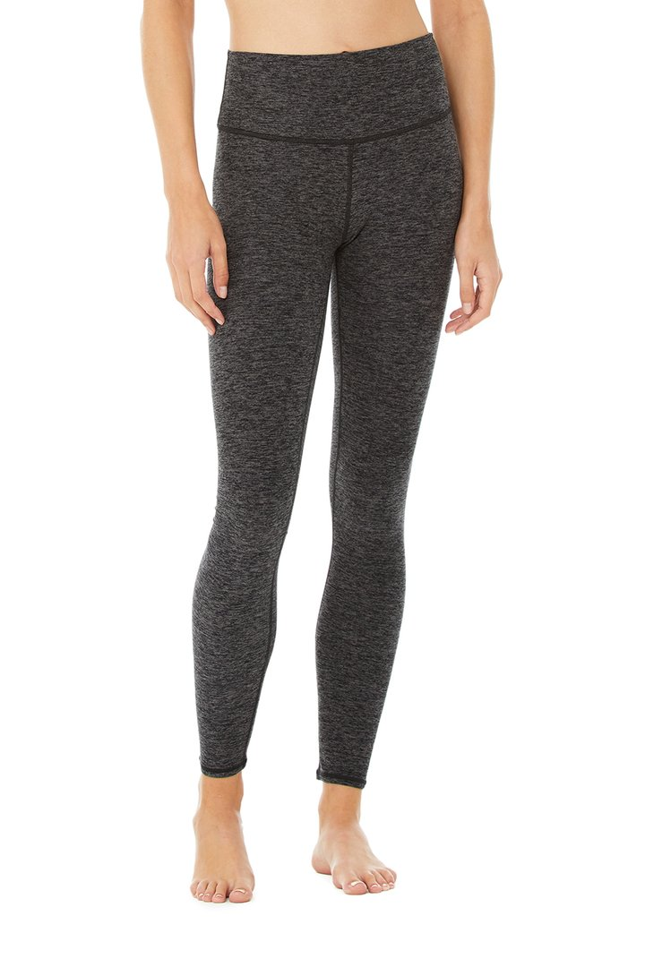 High-Waist Alosoft Highlight Legging by Alo Yoga, available on aloyoga.com for $88 Kaia Gerber Pants SIMILAR PRODUCT