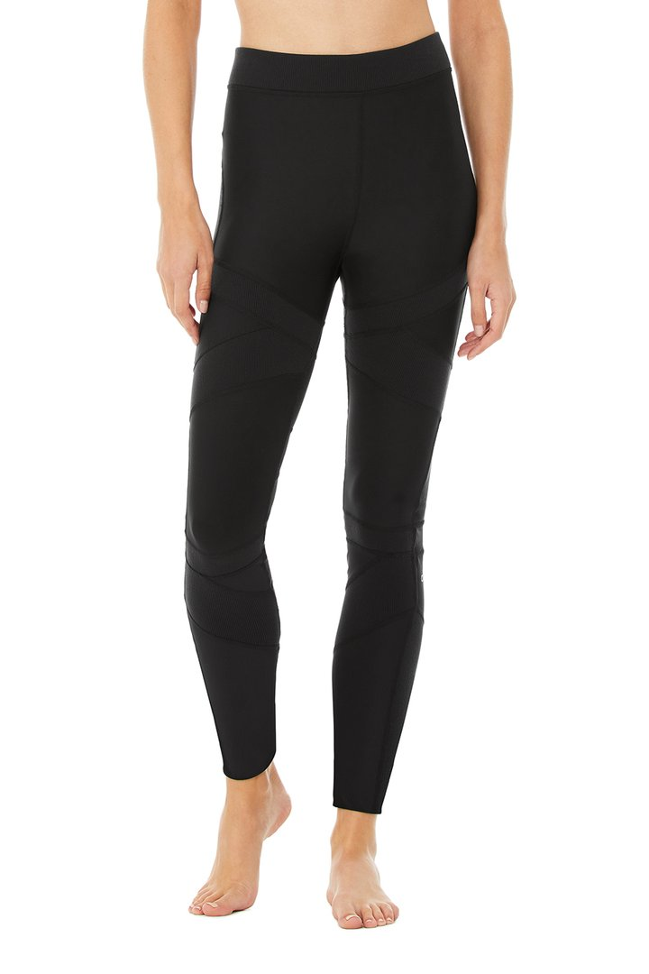 High-Waist Level Up Legging - Black by Alo Yoga, available on aloyoga.com for $118 Kaia Gerber Pants SIMILAR PRODUCT