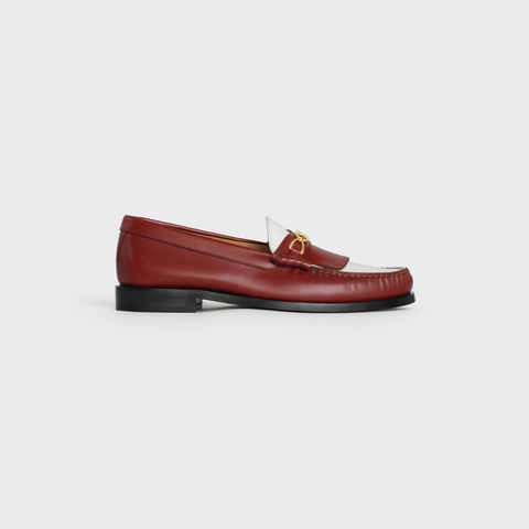 LUCO MAILLONS TRIOMPHE LOAFER IN POLISHED CALFSKIN by Celine, available on celine.com Kaia Gerber Shoes Exact Product