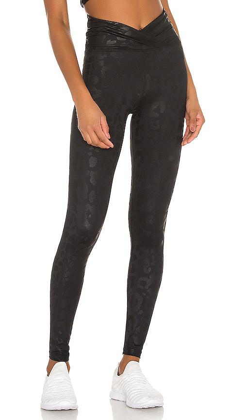 Leopard Twist Legging by BEACH RIOT, available on revolve.com for $108 Kaia Gerber Pants SIMILAR PRODUCT