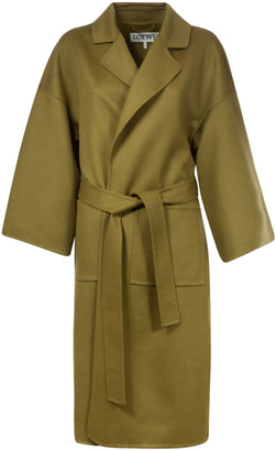 Oversized Belted Coat by Loewe, available on shopstyle.com for $1903 Kaia Gerber Outerwear SIMILAR PRODUCT
