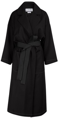 Oversized belted coat by Loewe, available on shopstyle.com for $1950 Kaia Gerber Outerwear SIMILAR PRODUCT