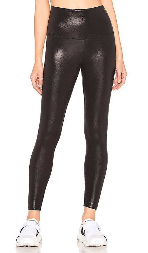 Pearlized High Waisted Midi Legging by Beyond Yoga, available on revolve.com for $88 Kaia Gerber Pants SIMILAR PRODUCT