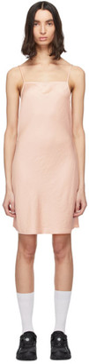 Pink Light Wash and Go Mini Cami Dress by Alexander Wang, available on shopstyle.com for $295 Kaia Gerber Dress SIMILAR PRODUCT