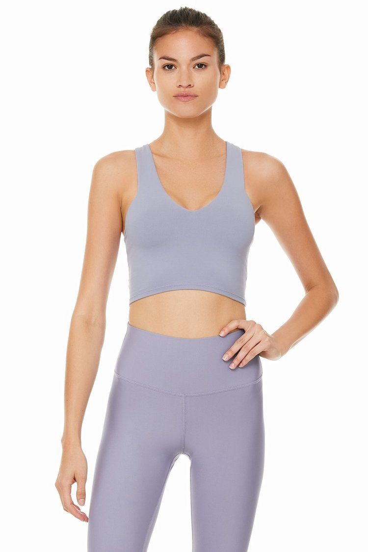 REAL BRA TANK by Alo Yoga, available on aloyoga.com for $72 Kaia Gerber Top Exact Product