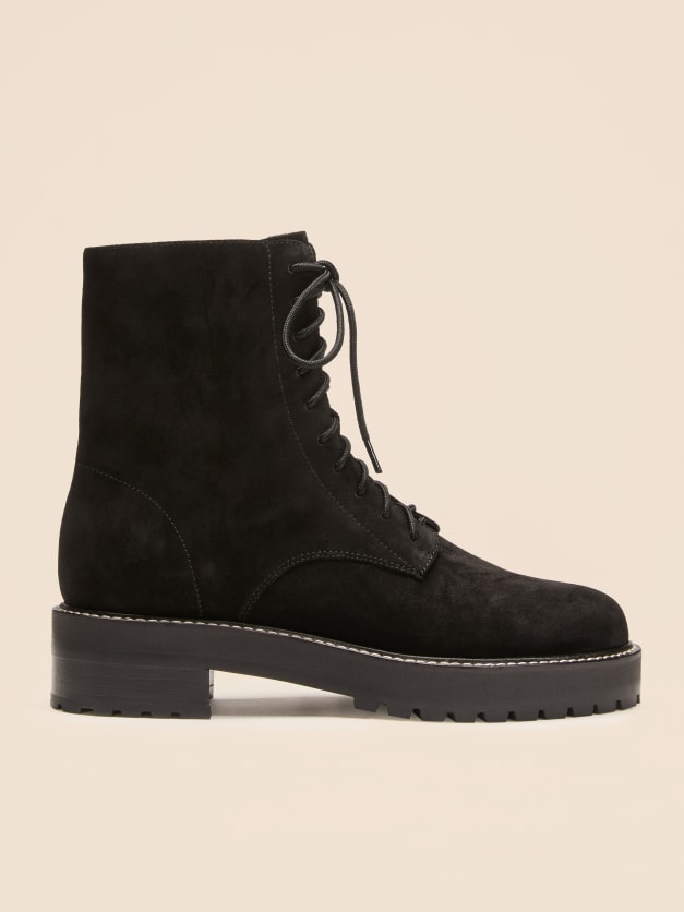 Sienna Boot by Reformation, available on thereformation.com for $285 Kaia Gerber Shoes Exact Product