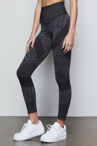 THE PAINTED CHEETAH LEGGING | PAINTED CHEETAH NIGHT001 by Good American, available on goodamerican.com for $115 Kaia Gerber Pants SIMILAR PRODUCT