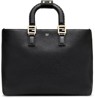 medium FF tote bag by Fendi, available on shopstyle.com for $3190 Kaia Gerber Bags Exact Product