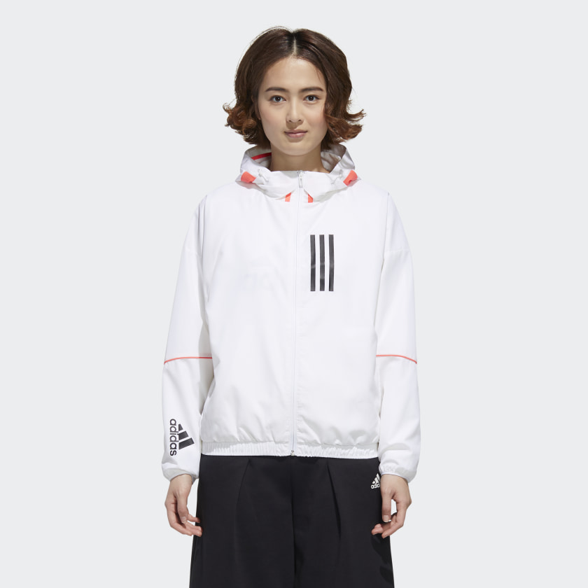 ADIDAS W.N.D. JACKET by ADIDAS, available on adidas.com for $60 Karlie Kloss Outerwear Exact Product