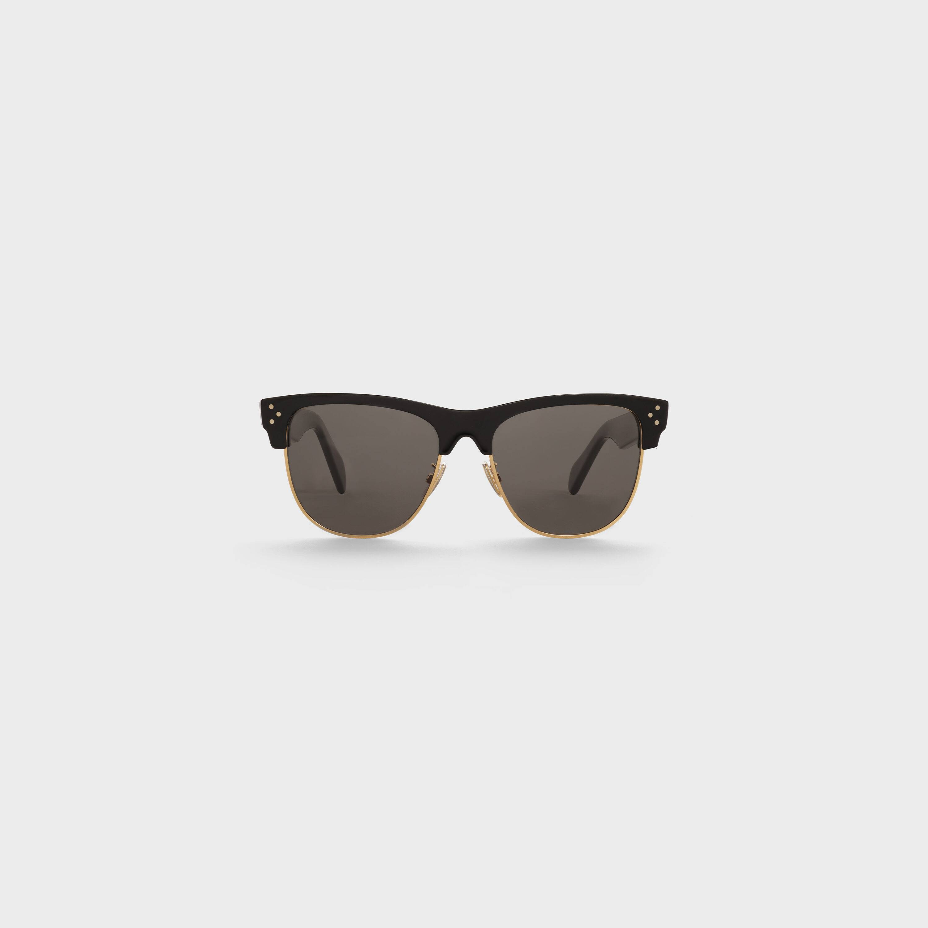 BLACK FRAME 13 SUNGLASSES IN ACETATE AND METAL by Celine, available on celine.com for $490 Karlie Kloss Sunglasses Exact Product