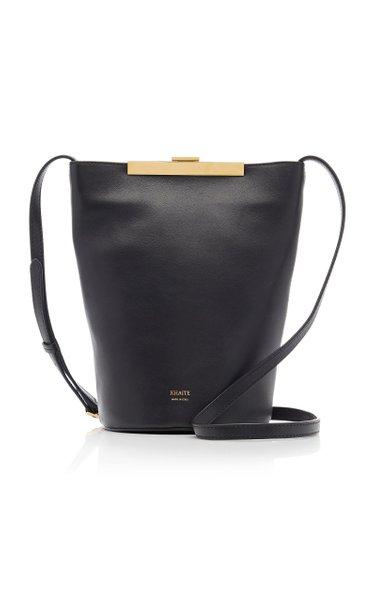 Etta Leather Crossbody Bag by Khaite, available on modaoperandi.com for $1380 Karlie Kloss Bags Exact Product