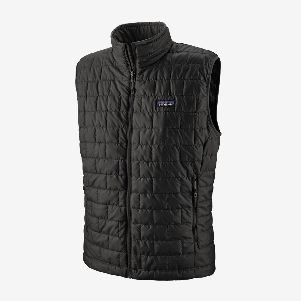 Men's Nano Puff® Vest by Patagonia, available on patagonia.com for $149 Karlie Kloss Outerwear Exact Product