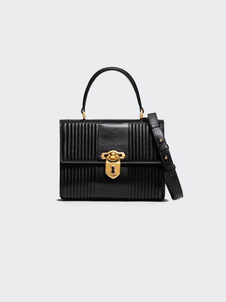 SECRET PADLOCK TRAPUNTO by Schiaparelli, available on schiaparelli.com for EUR5900 Karlie Kloss Bags Exact Product