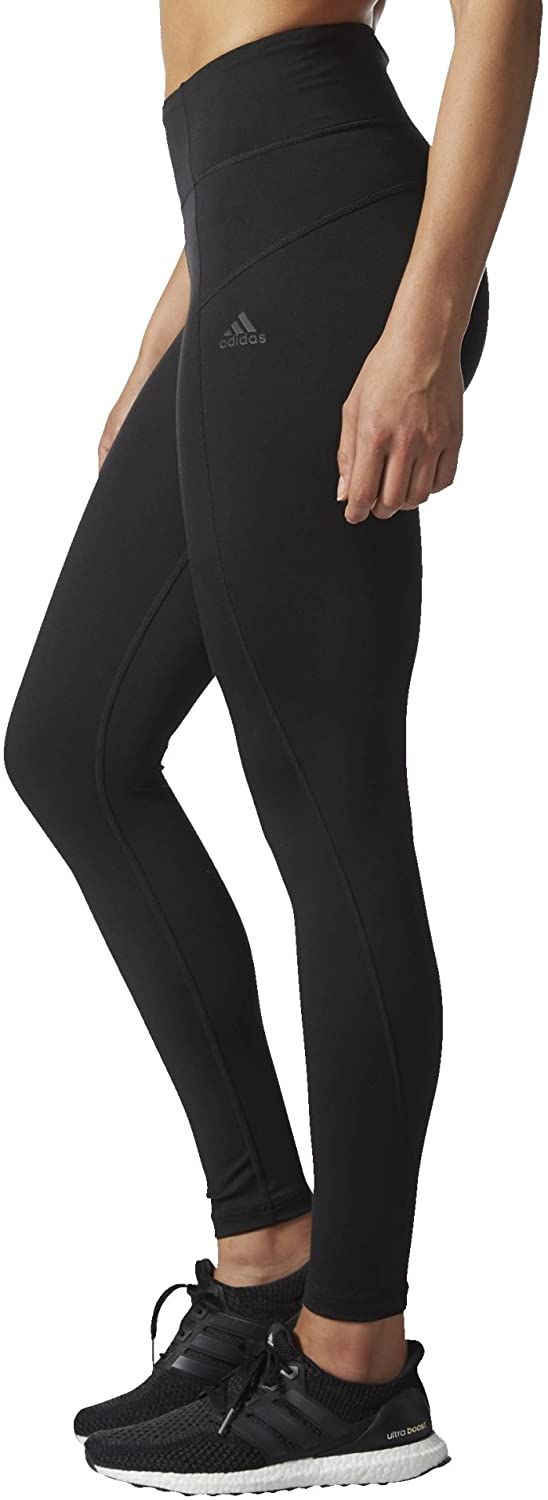 Women's Training High Rise Long Tights by Adidas, available on amazon.com for $60 Karlie Kloss Pants Exact Product