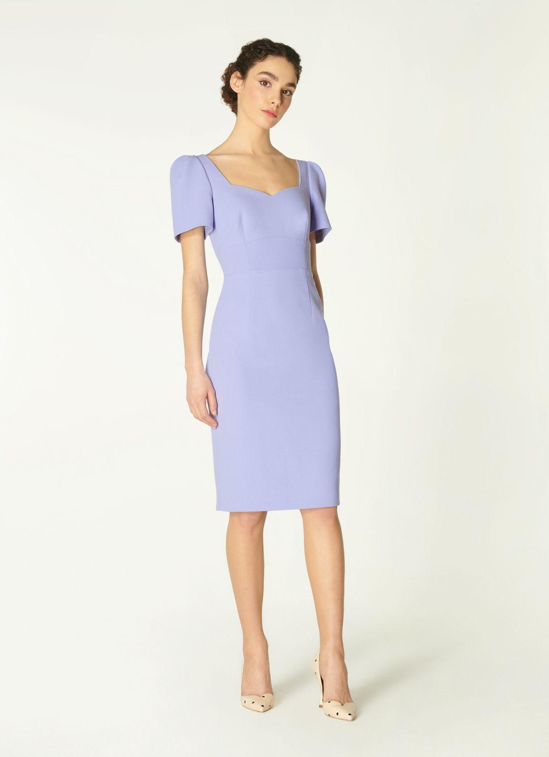 DEE PALE BLUE CREPE SHIFT DRESS by LK Bennet, available on lkbennett.com for EUR225 Kate Middleton Dress Exact Product