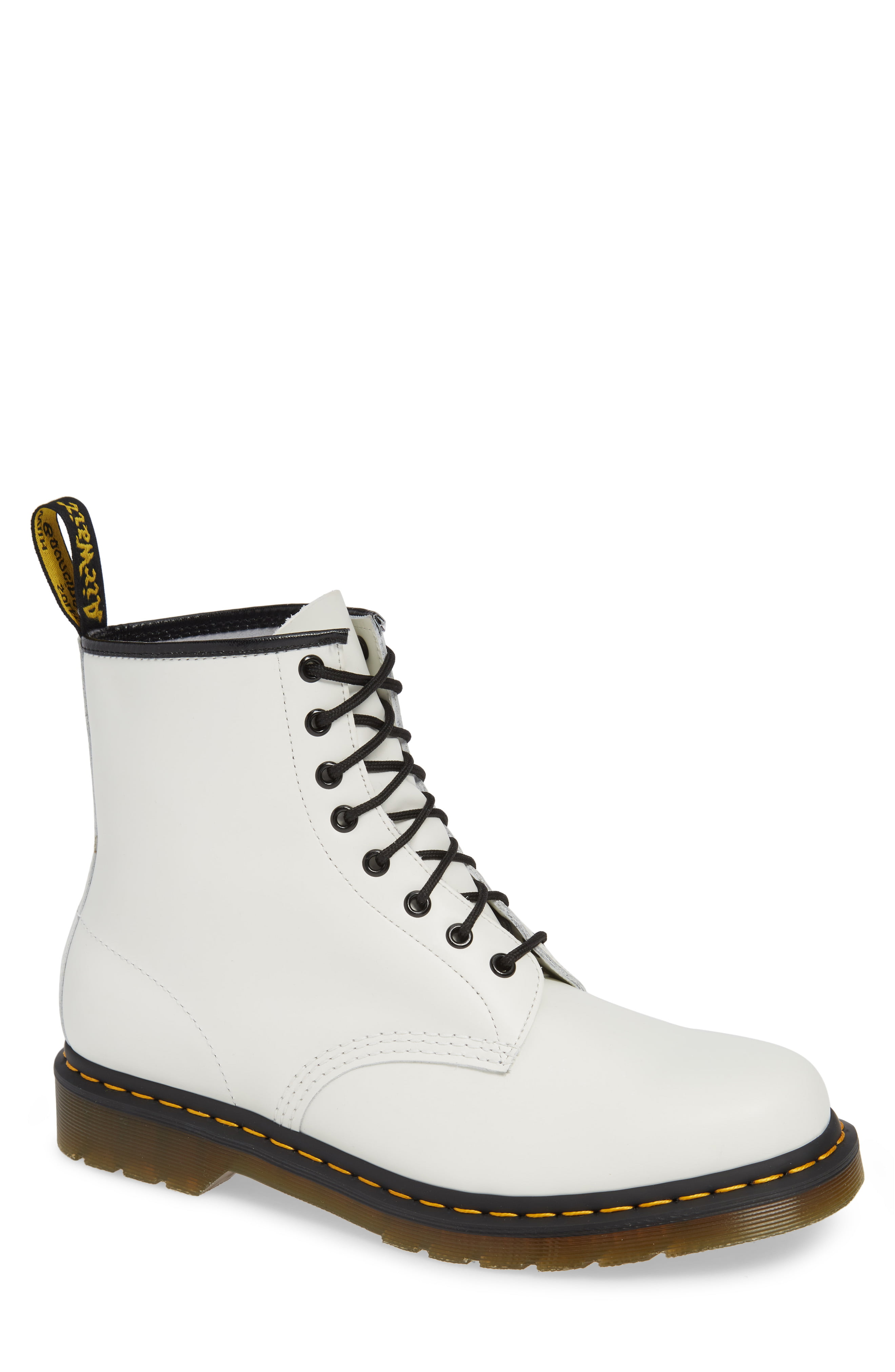 1460 Boots in Black by Dr. Marten, available on nordstrom.com for $140 Kendall Jenner Shoes Exact Product