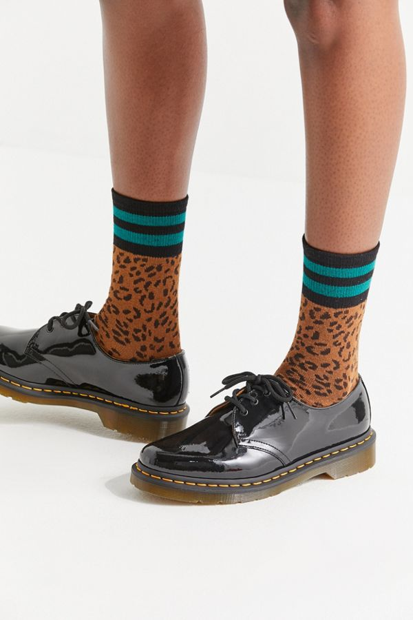 1461 Patent 3-Eye Oxford by Dr. Martens, available on urbanoutfitters.com for $99 Kendall Jenner Shoes Exact Product