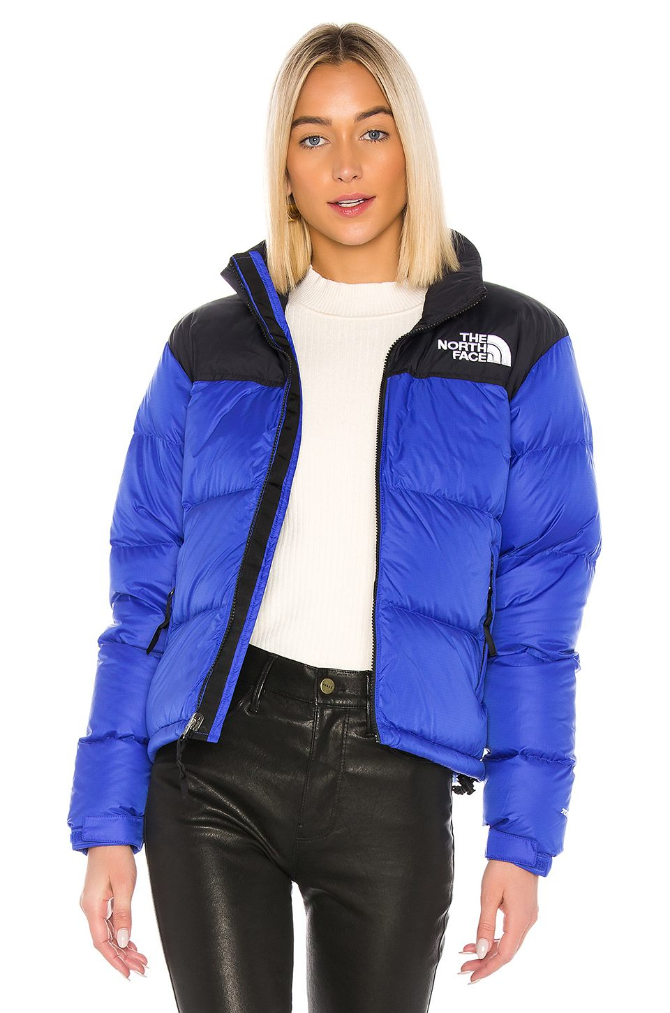 1996 Retro Nuptse Jacket by The North Face, available on revolve.com for $249 Kendall Jenner Outerwear Exact Product