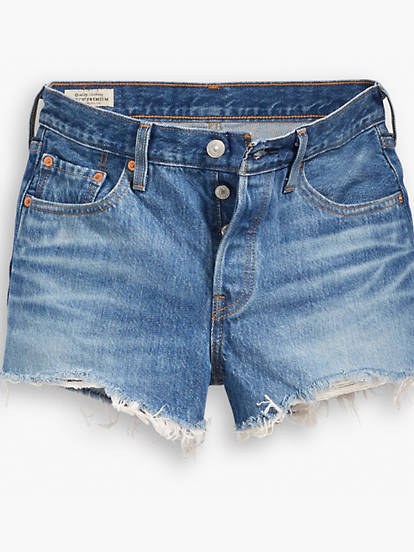 501® Womens Shorts LEVI'S® PREMIUM by Levi's, available on levi.com for $69 Kendall Jenner Shorts Exact Product