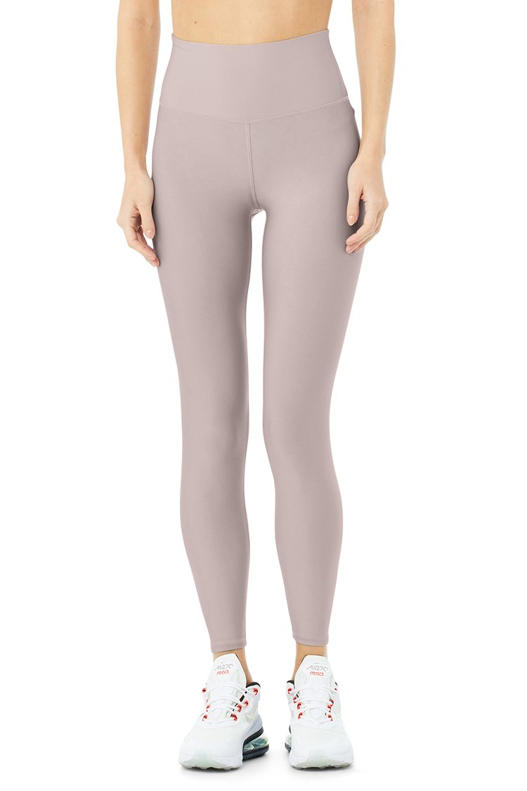 7/8 HIGH-WAIST AIRLIFT LEGGING by Alo-Yoga, available on aloyoga.com for $114 Kendall Jenner Pants Exact Product