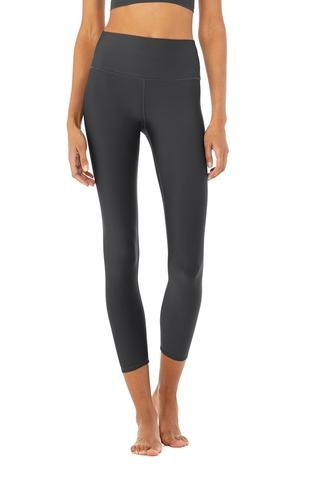 7/8 High-Waist Airlift Legging - Anthracite by Alo Yoga, available on aloyoga.com for $114 Kendall Jenner Pants SIMILAR PRODUCT