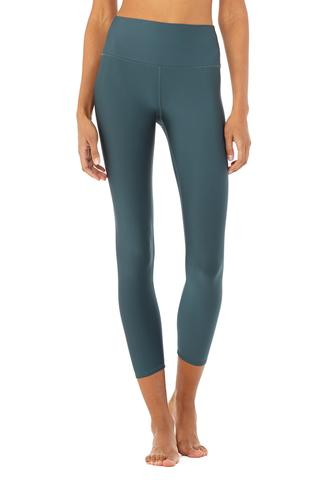 7/8 High-Waist Airlift Legging - Deep Jade by Alo Yoga, available on aloyoga.com for $114 Kendall Jenner Pants SIMILAR PRODUCT
