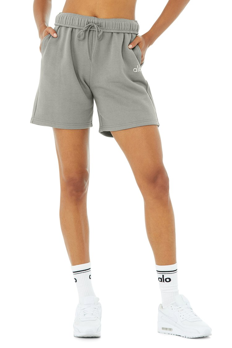 ACCOLADE SWEAT SHORT by Alo, available on aloyoga.com for $62 Kendall Jenner Shorts Exact Product