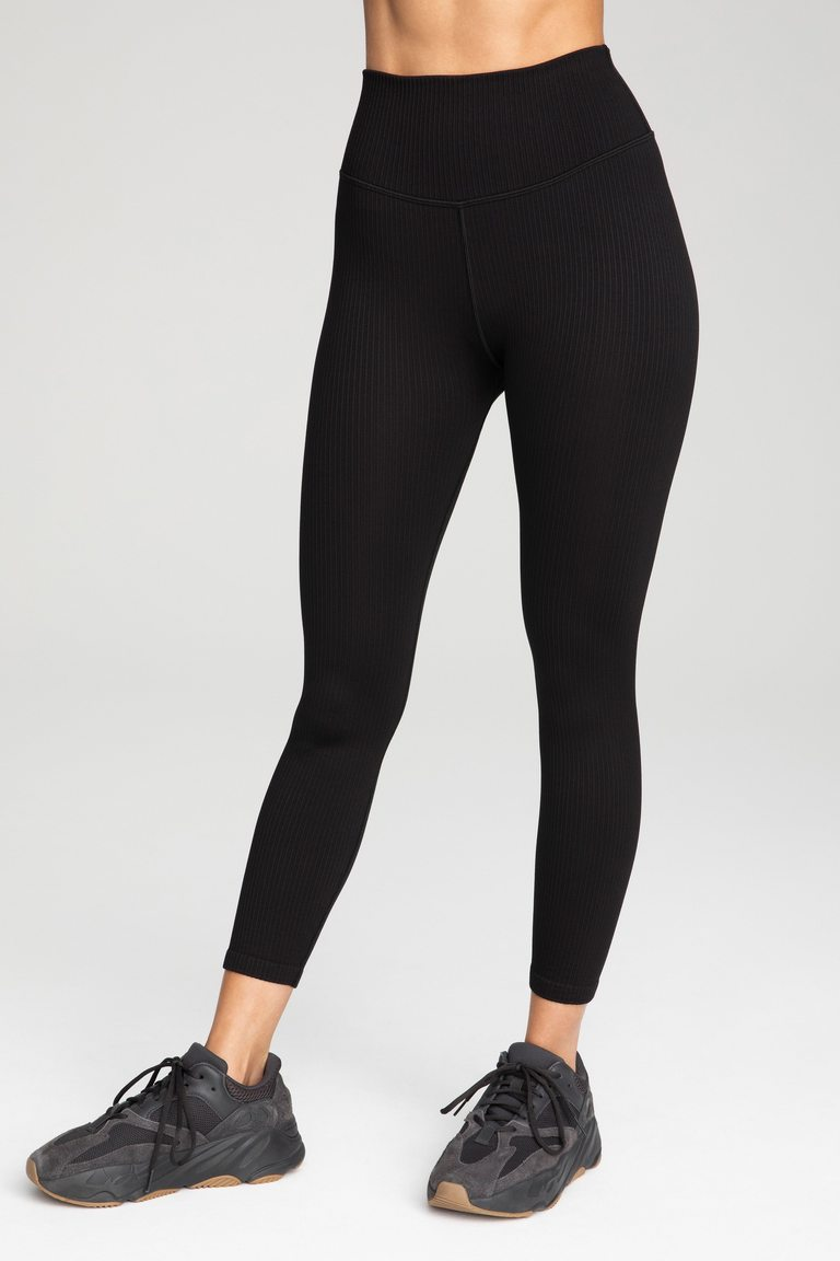 active essential ribbed legging by Good American, available on goodamerican.com for $81 Kendall Jenner Pants SIMILAR PRODUCT