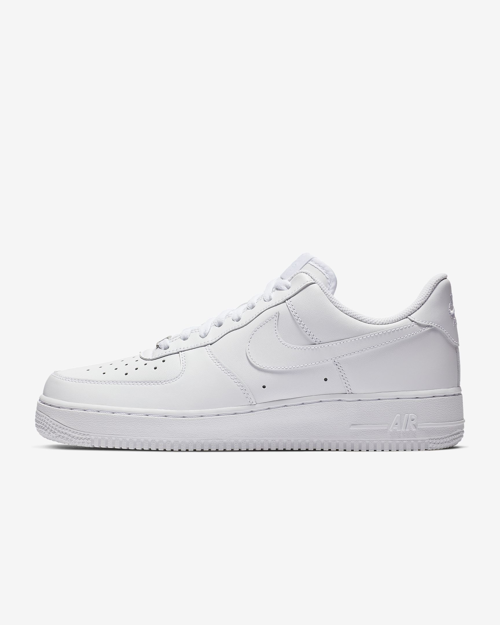 Air Force 1 '07 by Nike, available on nike.com for $90 Kendall Jenner Shoes Exact Product