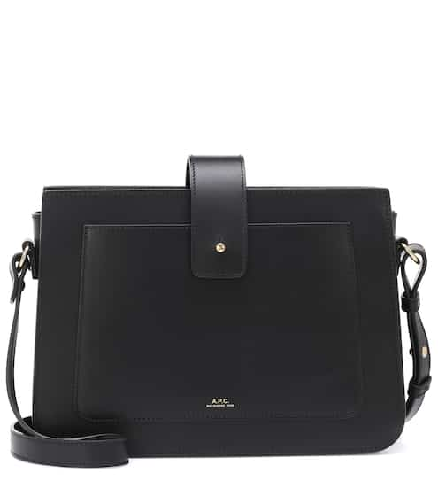 Albane leather shoulder bag by A.P.C., available on mytheresa.com for $610 Kendall Jenner Bags SIMILAR PRODUCT