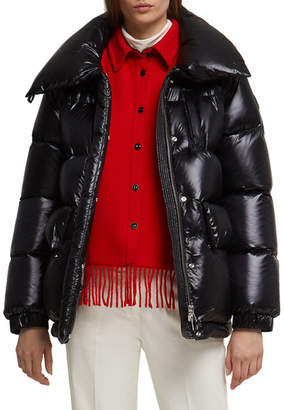 Alquippa Channel-Quilt Puffy Jacket by Woolrich, available on shopstyle.com for $755 Kendall Jenner Outerwear SIMILAR PRODUCT