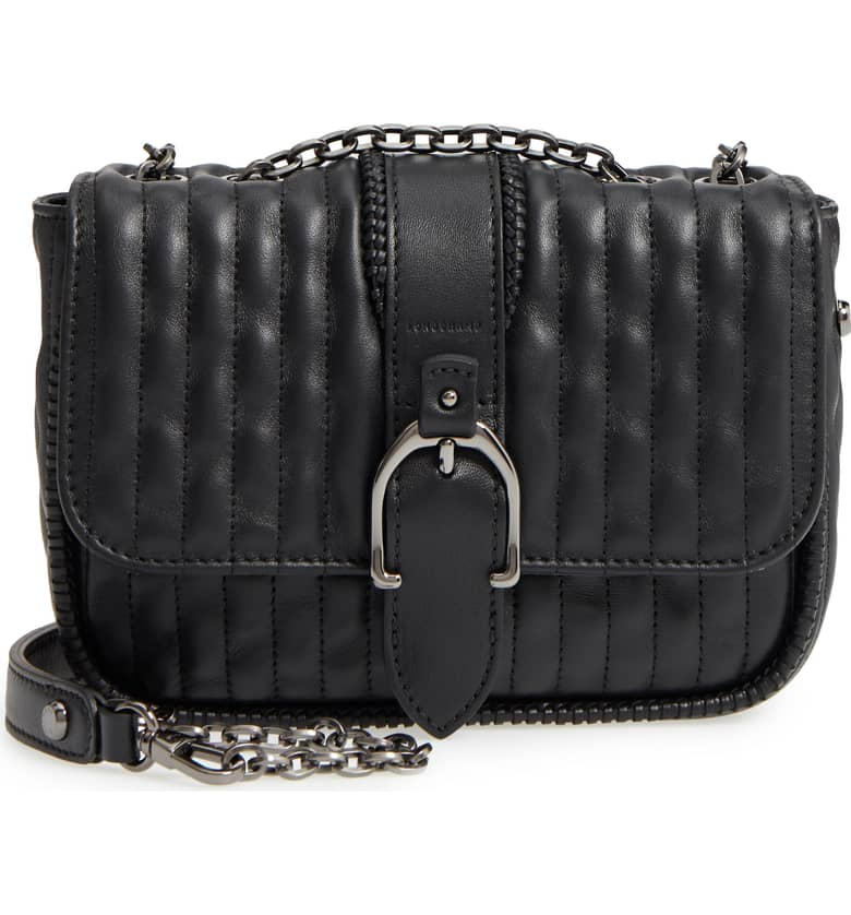 Amazone Quilted Leather Crossbody Bag by Longchamp, available on nordstrom.com for $875 Kendall Jenner Bags Exact Product